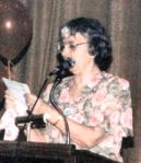 Vicki Starr at the 1992 Chicago DSA Deb-Thomas-Harrington Dinner