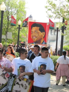 Cesar Chavez march- Sacramento