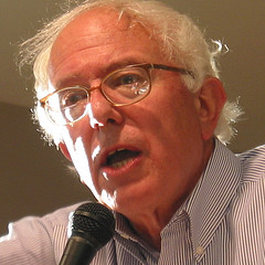 Senator Bernie Sanders   Photo by Don Shall