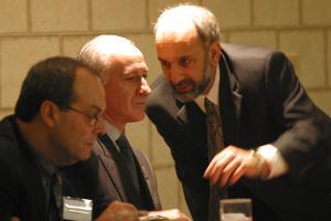 UNITE VP Al daCosta, Bruce Raynor, Warren Pepicelli