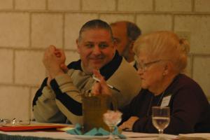 New England Joint Board President Bert Barao, with Joint Board Secretary Evelyn Moniz