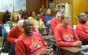 Organizers train with the Minnesota branch of Working America. Photo by Minnesota AFL-CIO.
