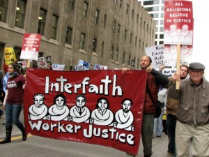 """The group Interfaith Worker Justice has posted statements of support from groups like the Central Conference of American Rabbis and the Union of American Hebrew Congregations,"" writes Dean. Credit: Creative Commons/Carrie Sloan."
