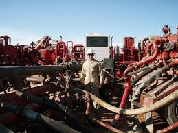 Fracking operation in ND. Photo  wikipedia creative commons