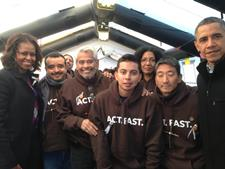 The Obama's Visit Eliseo Medina, Fast for Families  The Obama's Visit Eliseo Medina, Fast for Families