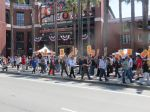 SF Giants Park picketing (photo: Carl Finamore)