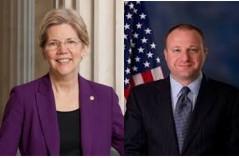 Sen Elizabeth Warren and Congressman Jared Polis
