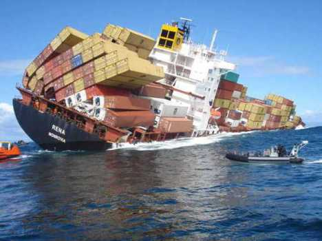 Sorcher TPP sinking ship